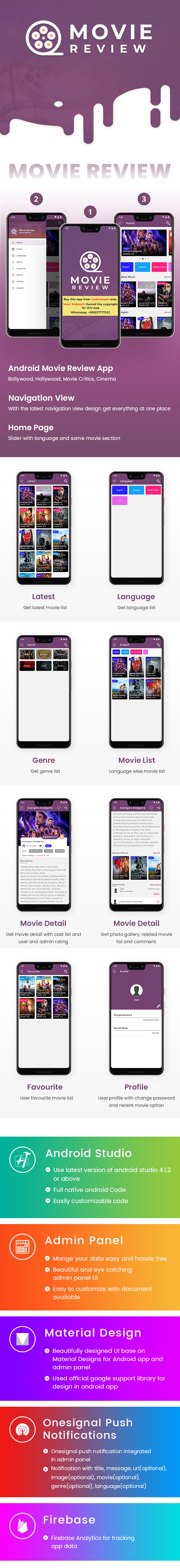 Android Movie Review App (Bollywood, Hollywood, Movie Critics, Cinema) - 7